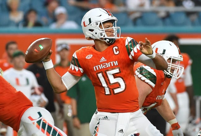 CFB | Florida Atlantic Owls (3-9) at Miami Hurricanes (8-5)