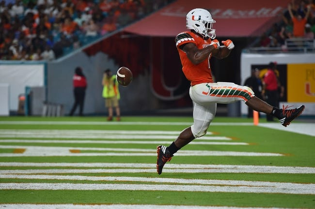 Appalachian State Mountaineers vs. Miami-FL Hurricanes - 9/17/16 College Football Pick, Odds, and Prediction