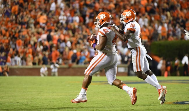 Troy Trojans at Clemson Tigers - 9/10/16 College Football Pick, Odds, and Prediction