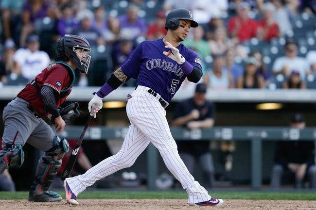 Desmond reinstated from DL, starts in LF for Rockies