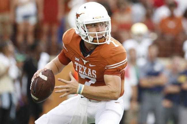 Texas vs. UTEP - 9/10/16 College Football Pick, Odds, and Prediction