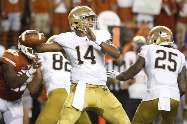Notre Dame vs. Nevada - 9/10/16 College Football Pick, Odds, and Prediction