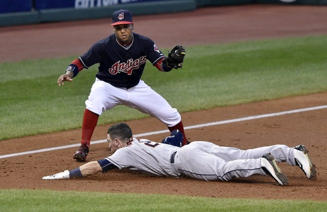 Cleveland Indians vs. Houston Astros - 9/7/16 MLB Pick, Odds, and Prediction