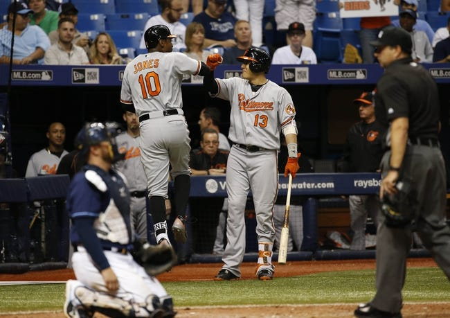 Tampa Bay Rays vs. Baltimore Orioles - 9/7/16 MLB Pick, Odds, and Prediction