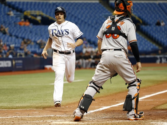 Baltimore Orioles vs. Tampa Bay Rays - 9/15/16 MLB Pick, Odds, and Prediction