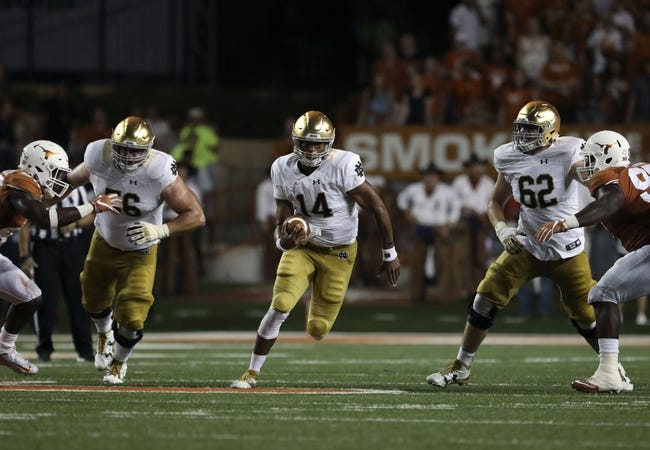 Michigan State Spartans at Notre Dame Fighting Irish - 9/17/16 College Football Pick, Odds, and Prediction