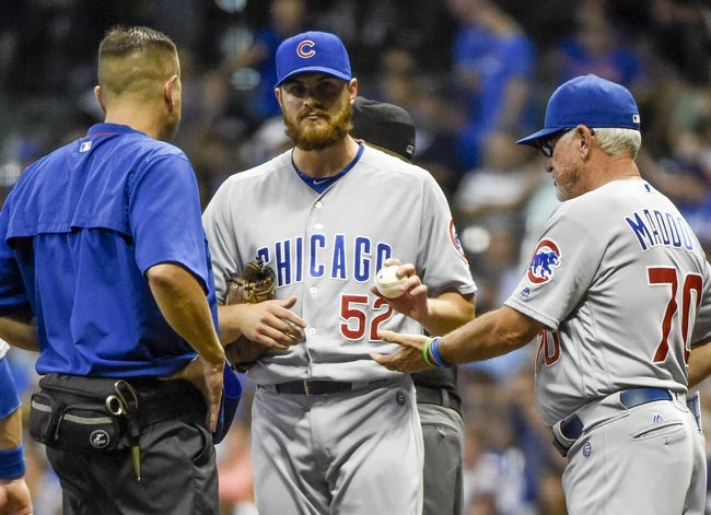 Chicago Cubs vs. Milwaukee Brewers - 9/15/16 MLB Pick, Odds, and Prediction