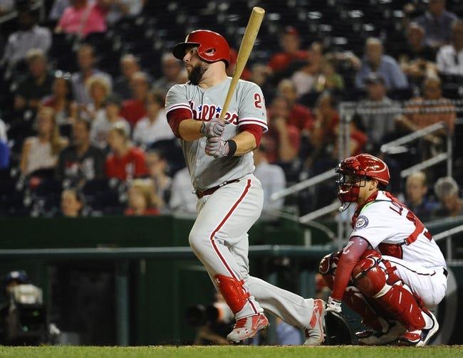 Washington Nationals vs. Philadelphia Phillies - 9/10/16 MLB Pick, Odds, and Prediction