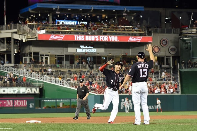 Washington Nationals vs. Philadelphia Phillies - 9/11/16 MLB Pick, Odds, and Prediction
