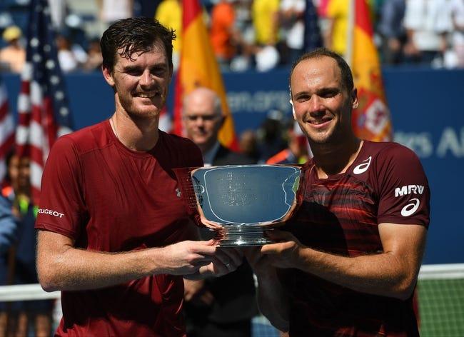 Jamie Murray/Bruno Soares vs Albert Ramos Viñolas/Paolo Lorenzi 2018 Wimbledon Doubles Tennis Pick, Preview, Odds, Predictions