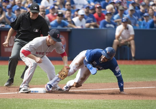 Toronto Blue Jays vs. Boston Red Sox - 9/11/16 MLB Pick, Odds, and Prediction