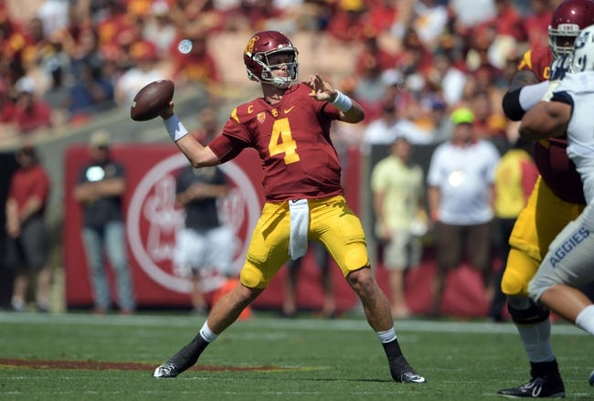 Stanford Cardinal vs. USC Trojans - 9/17/16 College Football Pick, Odds, and Prediction