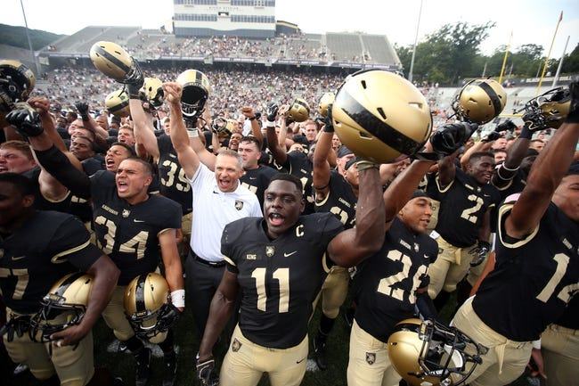 Army vs. Lafayette - 10/15/16 College Football Pick, Odds, and Prediction