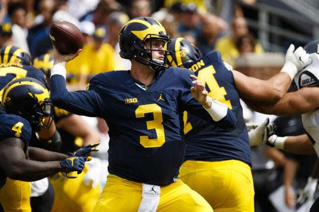 Wisconsin Badgers vs. Michigan Wolverines - 10/1/16 College Football Pick, Odds, and Prediction