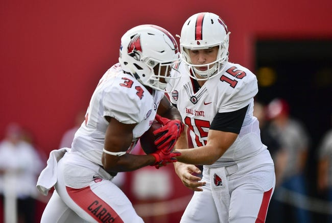 Miami-OH RedHawks vs. Ball State Cardinals - 11/22/16 College Football Pick, Odds, and Prediction