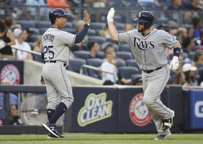 New York Yankees vs. Tampa Bay Rays - 9/11/16 MLB Pick, Odds, and Prediction