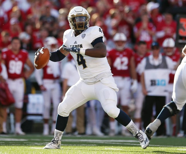 Akron vs. Toledo - 11/2/16 College Football Pick, Odds, and Prediction
