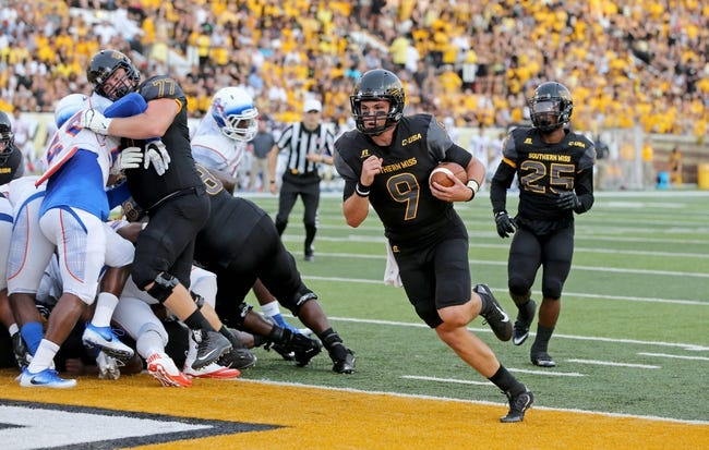 Southern Miss Golden Eagles vs. Troy Trojans - 9/17/16 College Football Pick, Odds, and Prediction