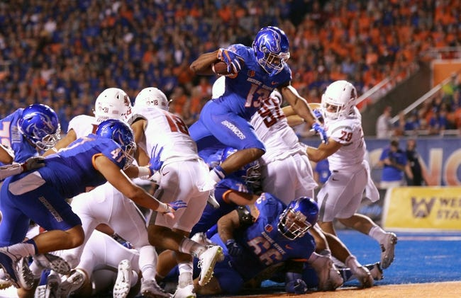 Boise State vs. Utah State - 10/1/16 College Football Pick, Odds, and Prediction