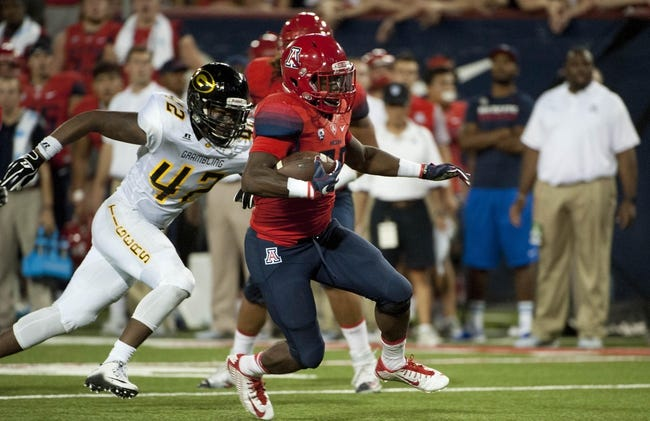 Arizona Wildcats vs. Hawaii Warriors - 9/17/16 College Football Pick, Odds, and Prediction