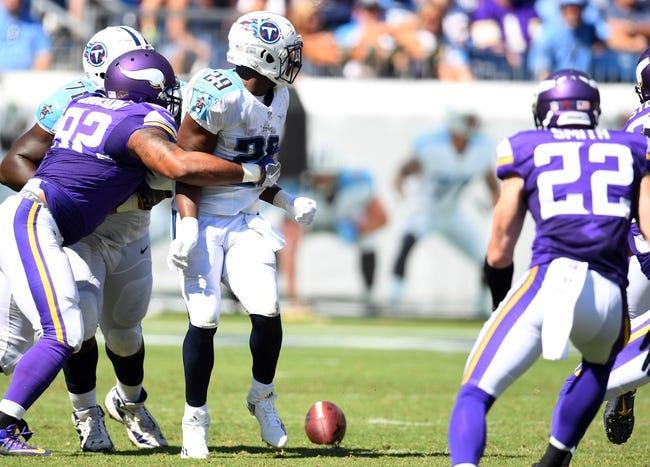 Tennessee Titans vs. Minnesota Vikings - 8/30/18 NFL Pick, Odds, and Prediction