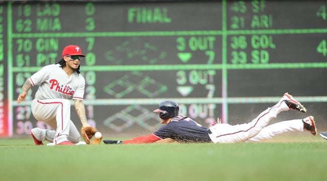 Phillies set club record in rout of Nationals