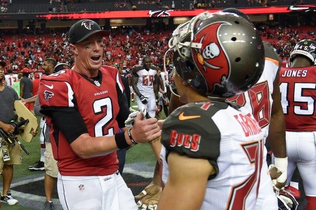 Tampa Bay Buccaneers vs. Atlanta Falcons - 11/3/16 NFL Pick, Odds, and Prediction