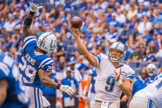 Detroit Lions vs. Tennessee Titans - 9/18/16 NFL Pick, Odds, and Prediction