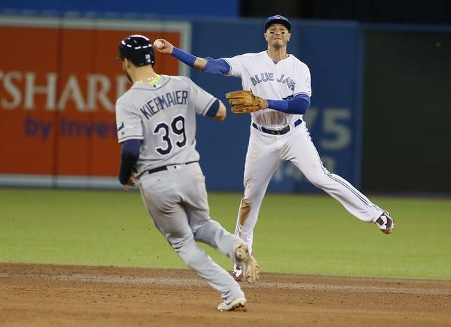 Toronto Blue Jays vs. Tampa Bay Rays - 9/14/16 MLB Pick, Odds, and Prediction