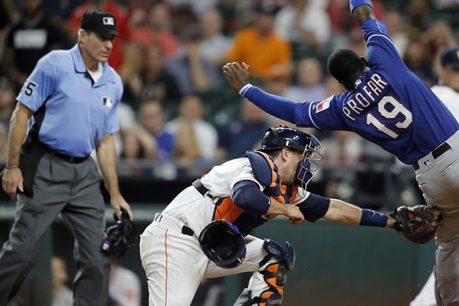 Astros vs. Rangers - 9/14/16 MLB Pick, Odds, and Prediction