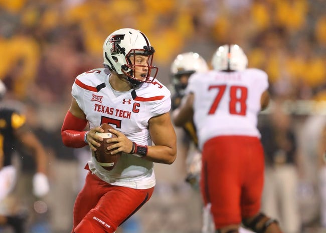 Texas Tech vs. Kansas - 9/29/16 College Football Pick, Odds, and Prediction