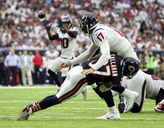 Kansas City Chiefs at Houston Texans - 9/18/16 NFL Pick, Odds, and Prediction