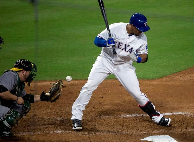 Texas Rangers vs. Oakland Athletics - 9/17/16 MLB Pick, Odds, and Prediction