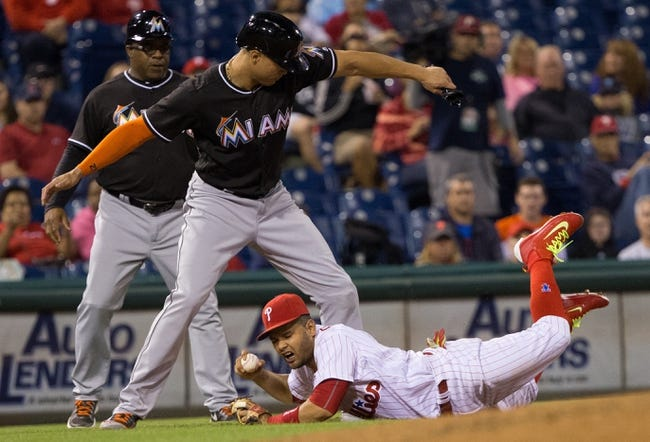 Philadelphia Phillies vs. Miami Marlins - 9/17/16 MLB Pick, Odds, and Prediction