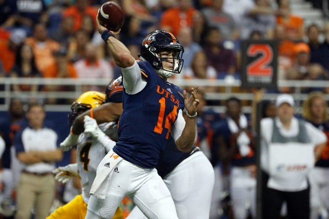Old Dominion Monarchs vs. UTSA Roadrunners - 9/24/16 College Football Pick, Odds, and Prediction