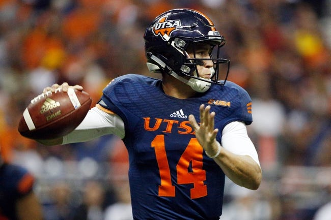 Rice Owls vs. UTSA Roadrunners - 10/15/16 College Football Pick, Odds, and Prediction