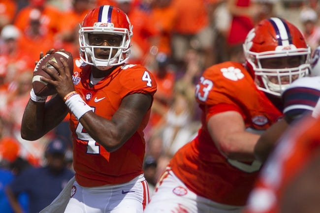 Georgia Tech Yellow Jackets vs. Clemson Tigers - 9/22/16 College Football Pick, Odds, and Prediction