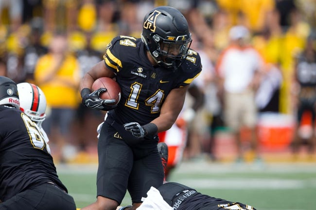 Akron Zips vs. Appalachian State Mountaineers - 9/24/16 College Football Pick, Odds, and Prediction