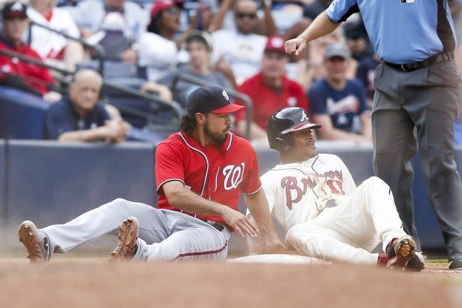 Atlanta Braves vs. Washington Nationals - 9/18/16 MLB Pick, Odds, and Prediction