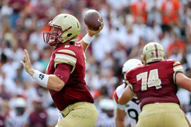 Boston College vs. Wagner - 9/24/16 College Football Pick, Odds, and Prediction