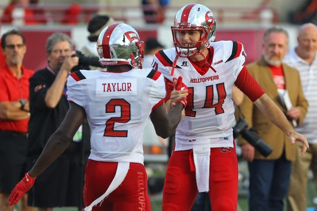 WKU Hilltoppers vs. LA Tech Bulldogs - 12/3/16 College Football Pick, Odds, and Prediction