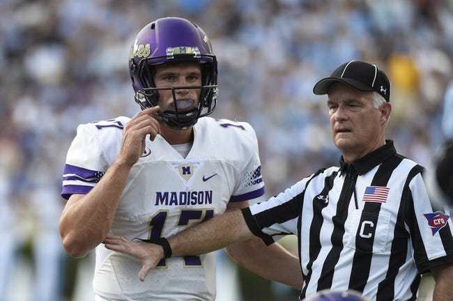Weber State vs. James Madison - 12/8/17 College Football Pick, Odds, and Prediction