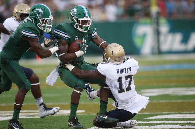 Memphis Tigers at Tulane Green Wave - 10/14/16 College Football Pick, Odds, and Prediction