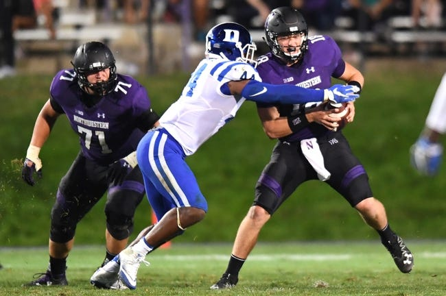 Duke vs. Northwestern - 9/9/17 College Football Pick, Odds, and Prediction