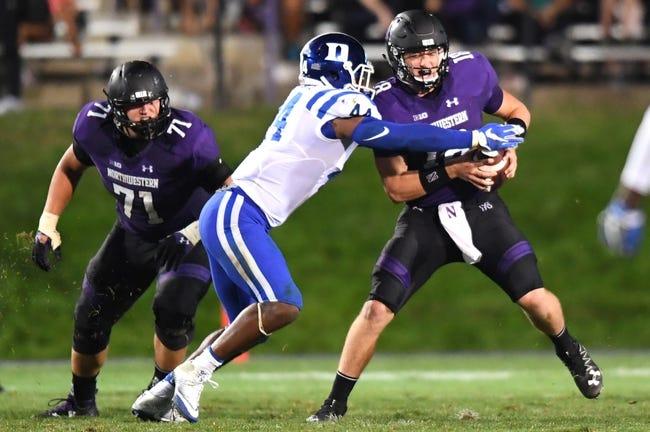 Duke vs. Northwestern - 9/9/17 College Football Pick, Odds, and Prediction