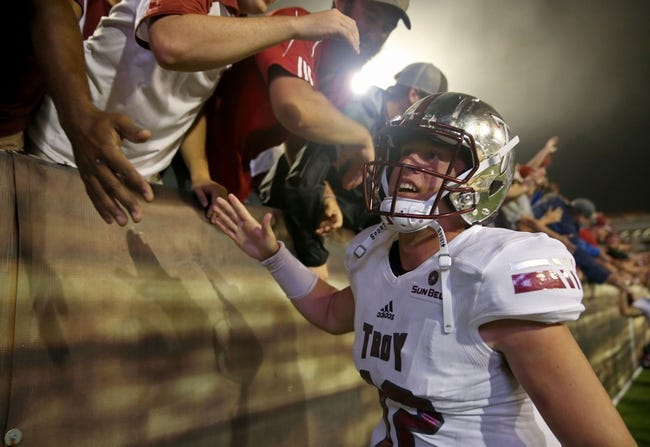 CFB | Appalachian State Mountaineers (7-2) at Troy Trojans (7-1)