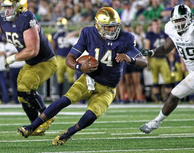 Notre Dame Fighting Irish vs. Duke Blue Devils - 9/24/16 College Football Pick, Odds, and Prediction