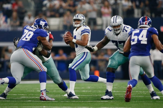New York Giants vs. Dallas Cowboys - 12/11/16 NFL Pick, Odds, and Prediction