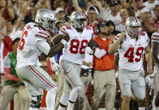 Ohio State vs. Rutgers - 10/1/16 College Football Pick, Odds, and Prediction