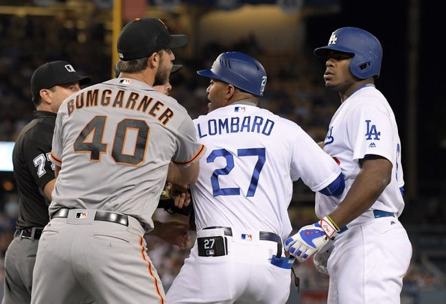 Dodgers vs. Giants - 9/20/16 MLB Pick, Odds, and Prediction